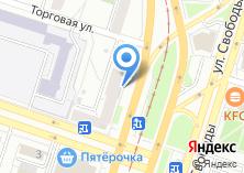 Компания «Уралинфотек» на карте