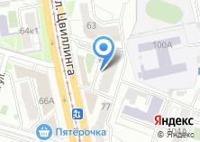 Компания «Строящийся жилой дом по ул. Цвиллинга» на карте