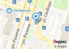 Компания «Вечерний Челябинск» на карте
