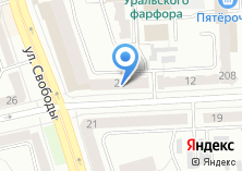 Компания «Церих» на карте