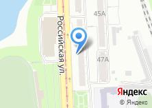 Компания «Авто-ДА» на карте