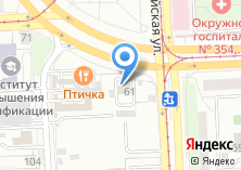 Компания «Автогуру» на карте