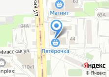 Компания «Парус-Челябинск» на карте