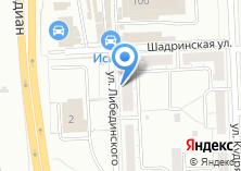 Компания «Уральский Автодом» на карте