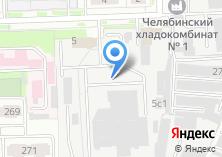 Компания «Челябинский региональный центр связи» на карте