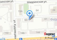 Компания «Автошин-Урал» на карте