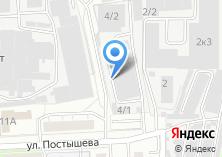 Компания «Урал-инструмент» на карте