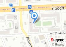 Компания «ТРВ» на карте