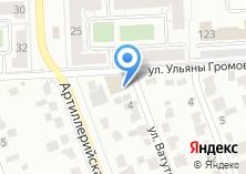 Компания «Клён» на карте