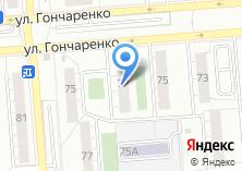 Компания «Инга» на карте