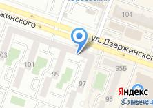 Компания «Строящийся жилой дом по ул. Дзержинского» на карте