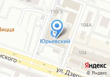 Компания «Юриал-мебель» на карте