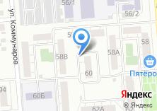 Компания «Южуралстройсервис» на карте