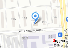 Компания «УралТехноИмпэкс» на карте