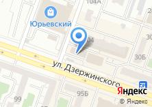 Компания «УралDoors» на карте