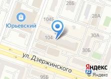 Компания «Мир Еды» на карте