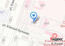 Компания «Областная клиническая больница №2» на карте