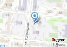 Компания «Детский сад №91» на карте