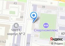 Компания «Общежитие Южно-Уральский государственный технический колледж» на карте