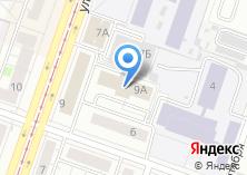 Компания «ЦКСТ» на карте