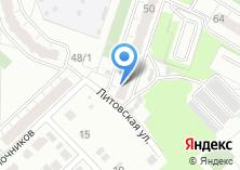 Компания «Продуктовый магазин на ул. Агалакова» на карте