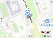 Компания «Уральский банк реконструкции и развития» на карте