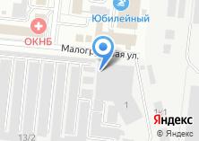 Компания «ТЕХБЕТОН» на карте