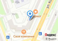 Компания «М-мебель» на карте