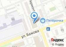 Компания «Лермонтовский» на карте
