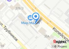 Компания «Электром» на карте