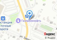 Компания «Цветочный магазин на ул. Комарова» на карте