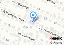 Компания «Социально-реабилитационный центр для несовершеннолетних Тракторозаводского района» на карте
