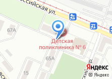 Компания «Детская городская поликлиника №6» на карте