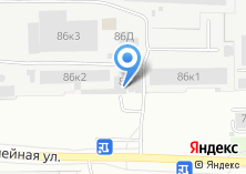 Компания «Автовышка 74» на карте