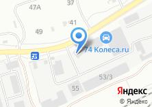 Компания «Челстрой» на карте