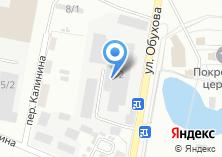 Компания «Копейский хлебокомбинат» на карте