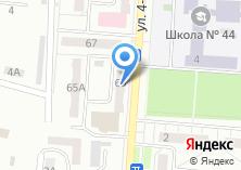 Компания «Лапки» на карте