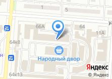 Компания «Кухмастер» на карте