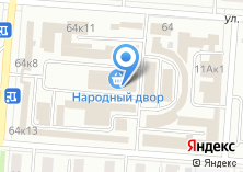 Компания «Чебоксарская фабрика дверей» на карте
