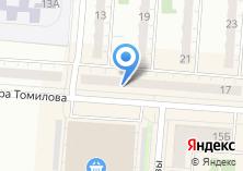 Компания «Центр окон и дверей» на карте
