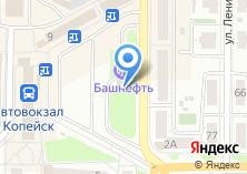 Компания «АЗС Salavat» на карте