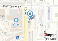 Компания «Уголовно-исполнительная инспекция ГУФСИН России по Челябинской области» на карте