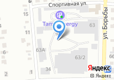 Компания «АЗС Башкирские нефтепродукты» на карте