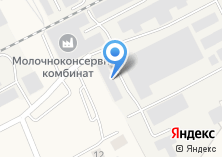 Компания «Любинский молочноконсервный комбинат» на карте