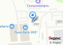 Компания «ЛесЦемСиб» на карте