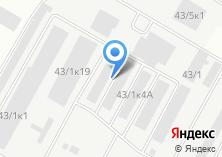 Компания «Резинотехника» на карте