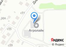 Компания «Сеткасиб» на карте