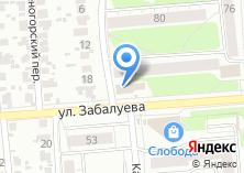 Компания «Юни-Двери» на карте