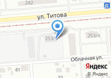 Компания «Вертикаль-НСК» на карте