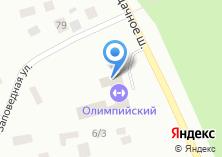 Компания «Олимпийская» на карте